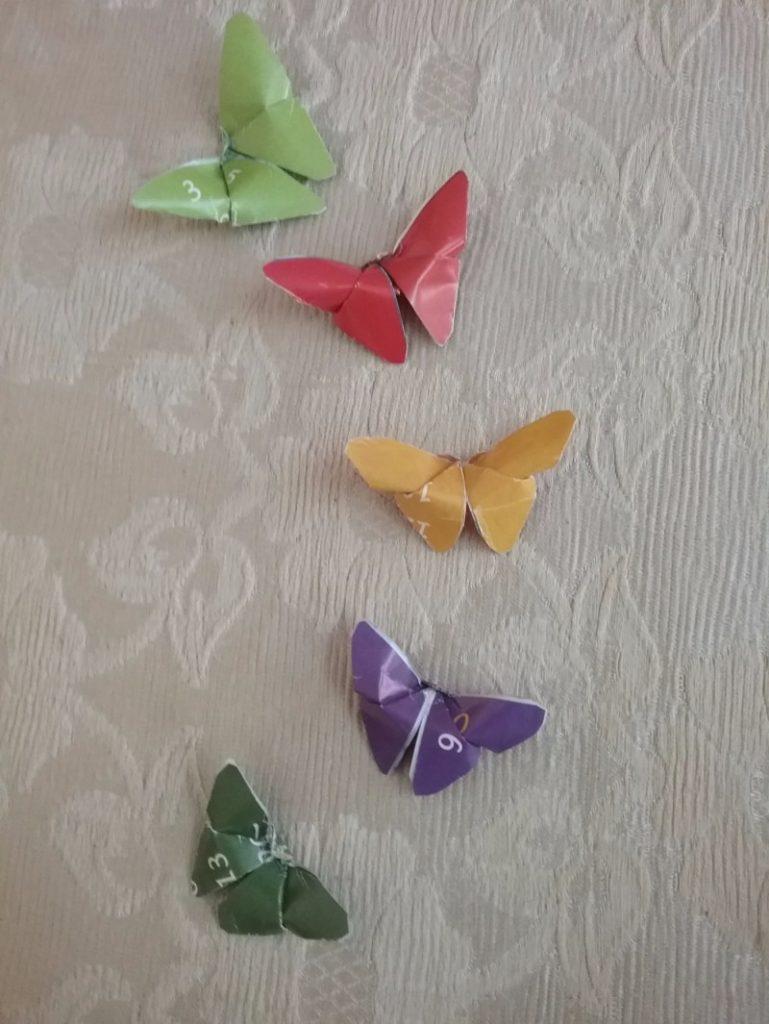 Оригами из бумаги бабочка схема для начинающих фото 717