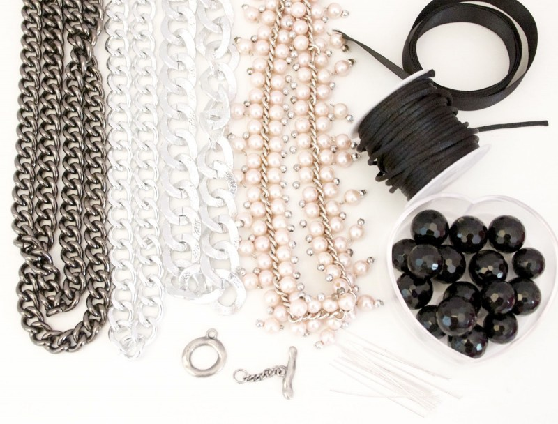Ожерелье из ткани своими руками