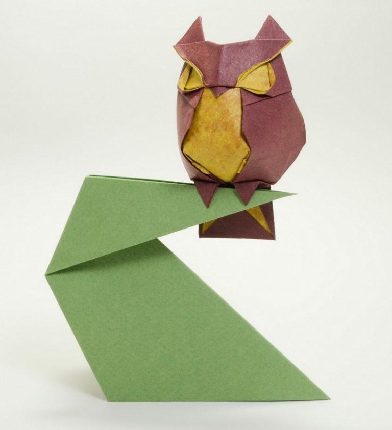 открытки оригами животных которые посетят таррагону