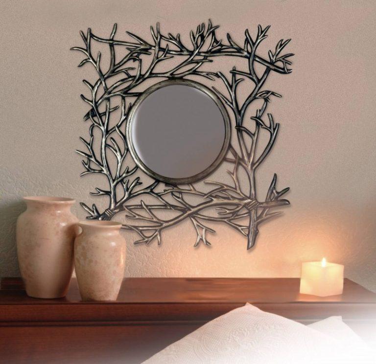 как украсить зеркало фотографиями изготовить копию