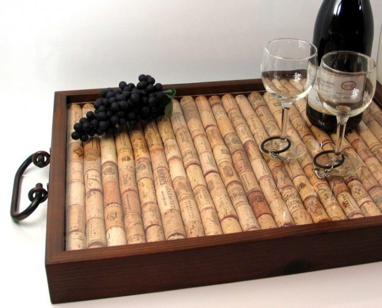 Изделия из пробок от вина фото