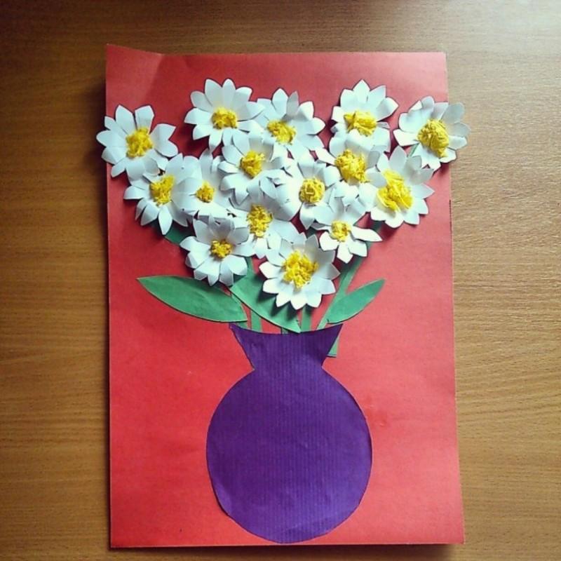Поделка открытка для мамы 2 класс, открытки днем рождения
