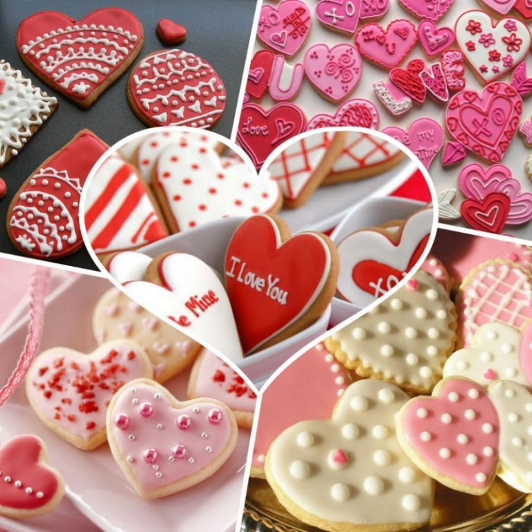 начале сердечки с пожеланиями печенье рецепт куста