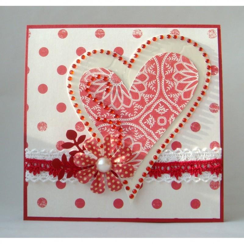 Любовная открытка своими руками