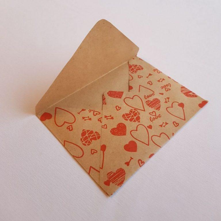 ручные конверты с картинками
